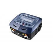 Универсальное двухканальное зарядно-разрядное устройство SkyRC D100 V2 с Bluetooth (11-18V/220V 100W C:10A D:2A)